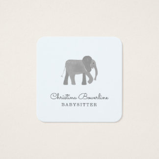 Little Elephant Square Business Card