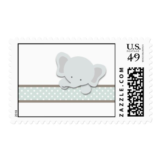 Little Elephant {Teal} | Stamps