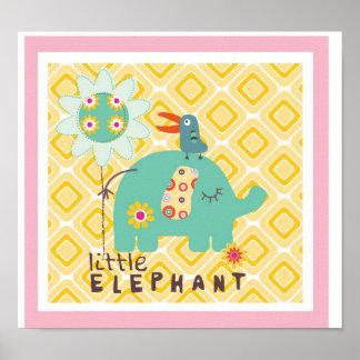 little elephant wall decor