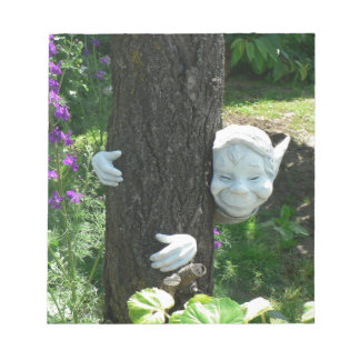 Little Elf FRANKY hugging the tree Memo Note Pads