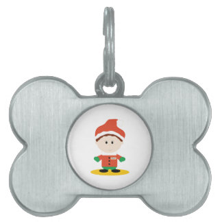 Little Elf Pet ID Tag