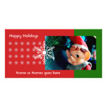 Little Elf Photo Card