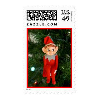 Little elf postage stamps