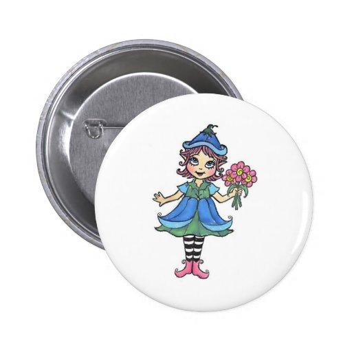 Little Elfgirl Buttons
