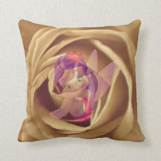 little elve, rose pillow