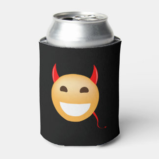 Little Emoji Devil Can Cooler
