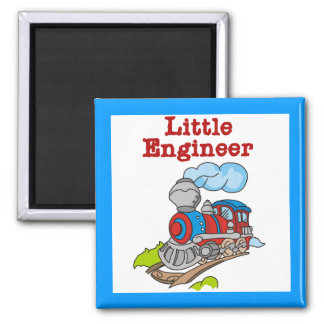 Little Engineer T-shirts and Gifts 2 Inch Square Magnet