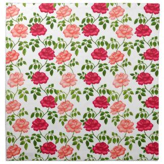 Little English Tea Roses Napkins