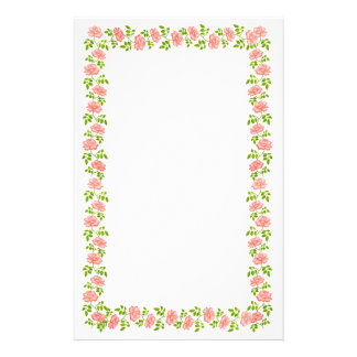 Little English Tea Roses Stationery