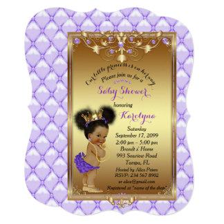 Little etnic Princess, Baby Shower Invitation,Karo Card