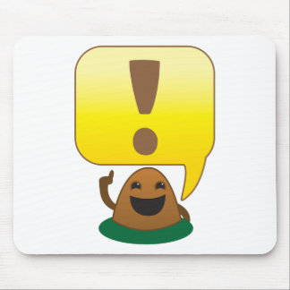 little exclamation mouse pad