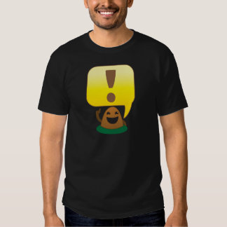 little exclamation t shirt