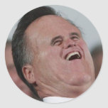 Little Face, Big Chuckles Classic Round Sticker