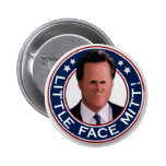Little Face Mitt! Pinback Buttons