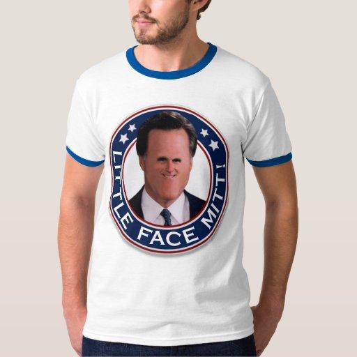Little Face Mitt Ringer Tee Shirt