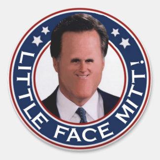 Little Face Mitt sticker sheet