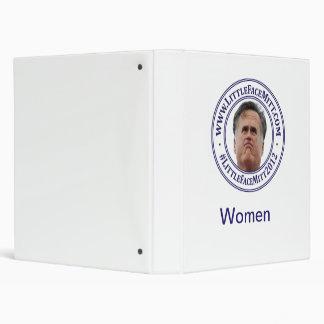 Little Face Mitt's Women Binder