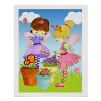 Little Fairies Poster
