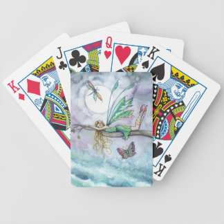 Little Fairy and Dragonflies Playing Cards
