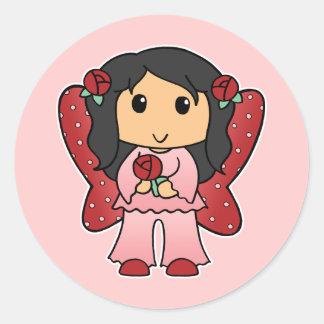 Little Fairy Classic Round Sticker