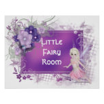 Little Fairy Girl Print - Customizable