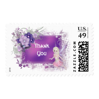 Little Fairy Girl Stamps