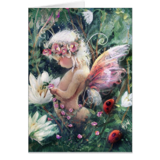 Little Fairy in the Woods Card