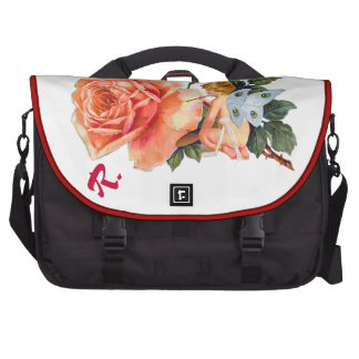 Little Fairy Painting Rose - Personalized Bag For Laptop