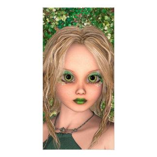 Little Fairy Photo Card Template