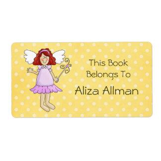 Little Fairy Princess Bookplate Label