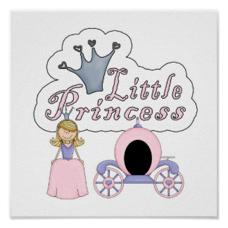 Little Fairy Tale Princess Poster