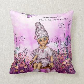 Little Fairy Throw Pillow