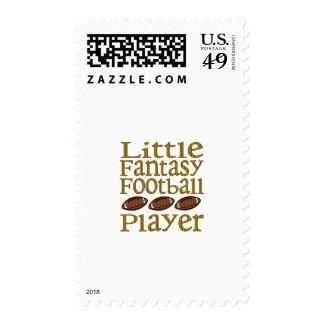 Little Fantasy Football Player Stamp