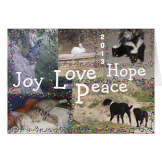 Little Farm Christmas Card