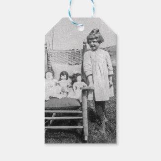 Little Farm Girl in Pennsylvania & Dollies Vintage Gift Tags