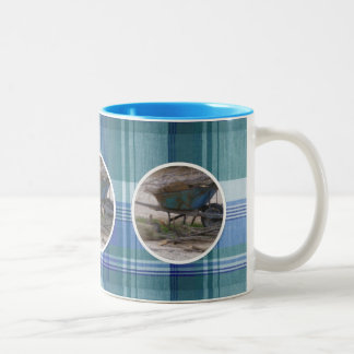 Little Farm Romance Plaid Mug
