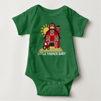 Little Farmer country baby bodysuit