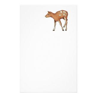 Little Fawn, Deer: Original Color Pencil Art Stationery