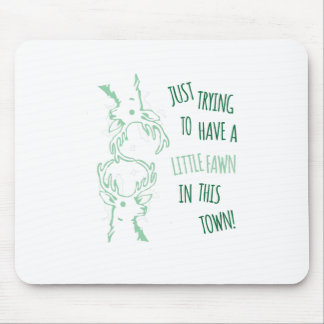 Little Fawn Mouse Pad