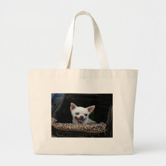 Little fighter large tote bag