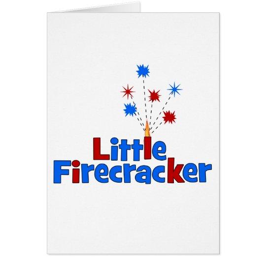Little Firecracker - 4th of July Card