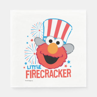 Little Firecracker Elmo Paper Napkin