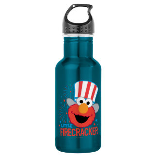 Little Firecracker Elmo Stainless Steel Water Bottle