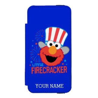 Little Firecracker Elmo Wallet Case For iPhone SE/5/5s