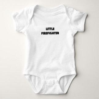 Little Firefighter Baby Bodysuit