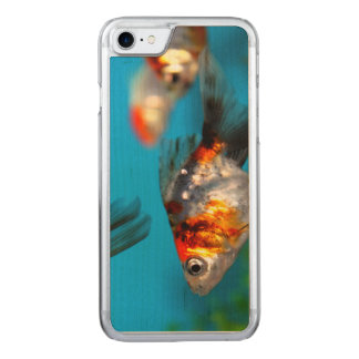 Little Fish Carved iPhone 7 Case