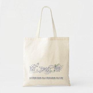 Little Fish Mermaid Tote Bag