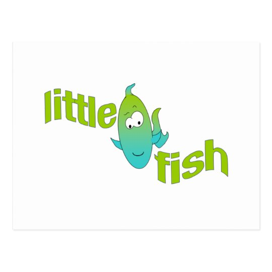 Little fish postcard
