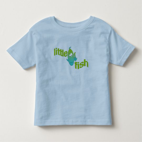 Little fish toddler t-shirt