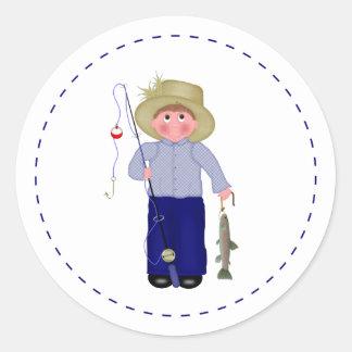 Little Fisherman Sticker